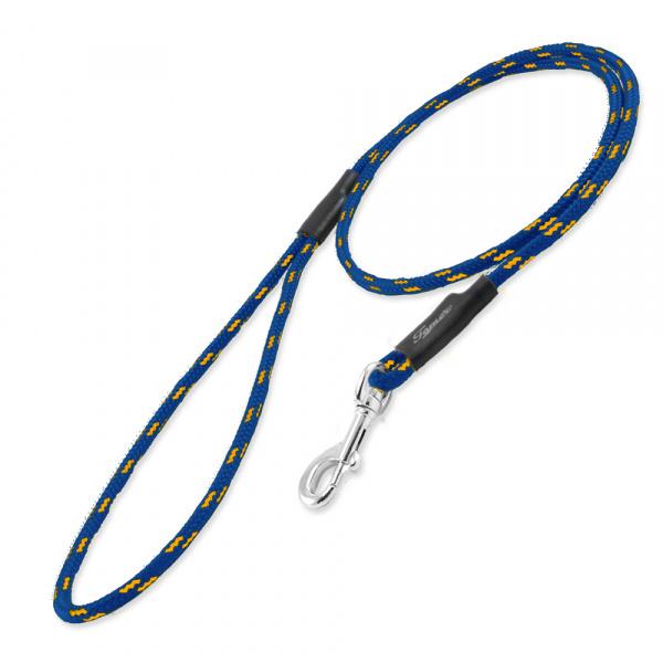 Vodítko klasické Tamer 115cm mini modré/žluté