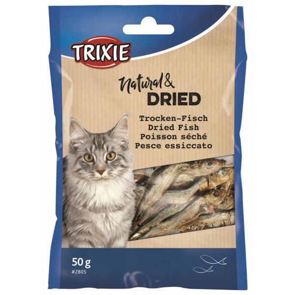 Sušené rybičky pro kočky Trixie 50g