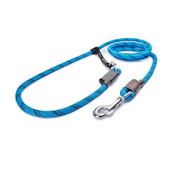 Vodítko Tamer s posuvným systémem 2,5m 4-20kg modré/černé