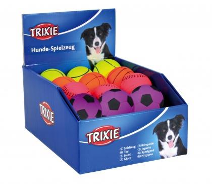 Hračka pro psy trixie míček neon 6cm