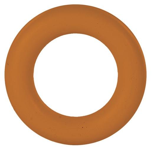 Hračka pro psy trixie gumový kruh 15cm