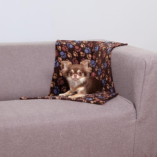 Deka pro psy trixie laslo fleecová tmavé hnědá 75cm