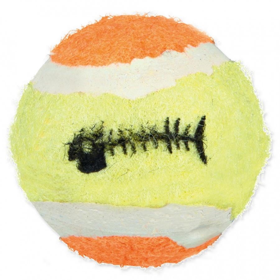 Hračka pro kočky trixie míčky 3,5-4cm 6ks