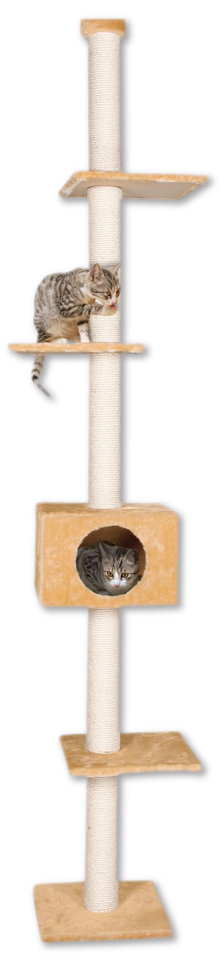 Odpočívadlo MAGIC CAT Adela béžové 263cm Magic Cat