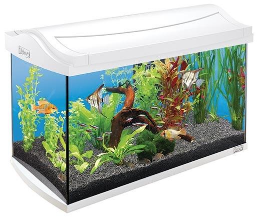 Akvárium set TETRA AquaArt bílý 60l