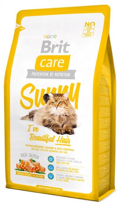 BRIT Care Cat Sunny I've Beautiful Hair 7kg