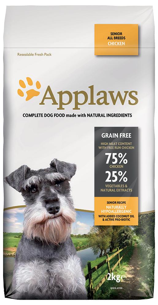 Krmivo Applaws Dry Dog Chicken Senior 2kg
