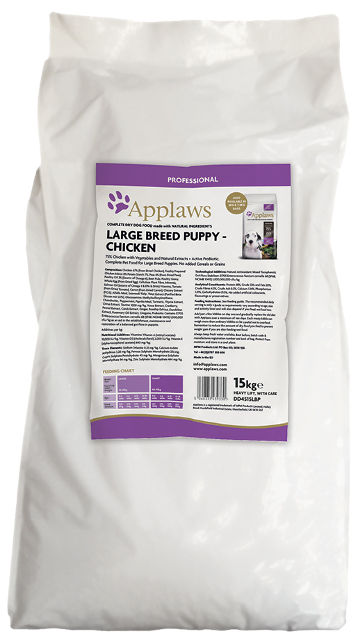 APPLAWS Dry Puppy Chicken Large Breed 15kg