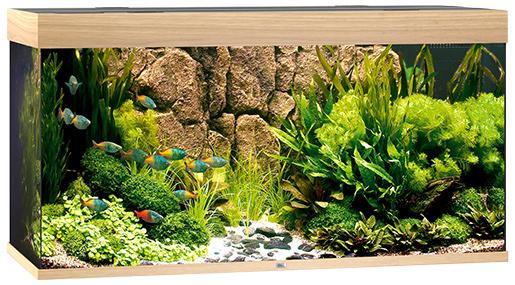 Akvárium set Juwel Rio LED 350 dub Juwel