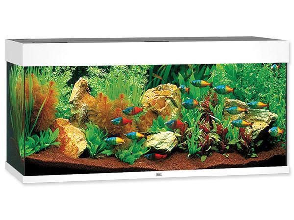 Akvárium set JUWEL Rio LED 180 bílé Juwel