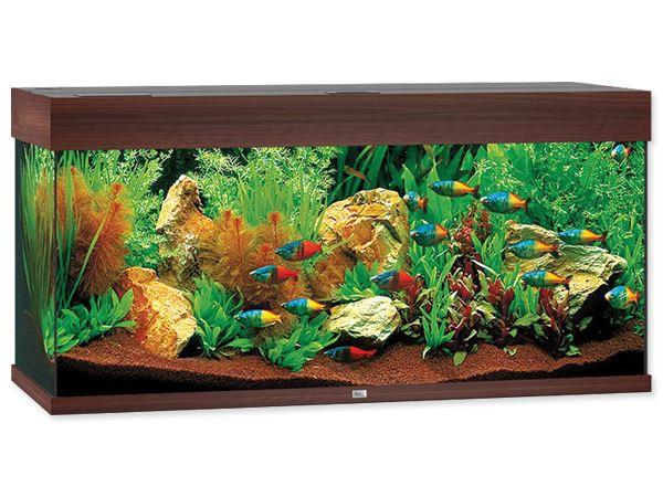 Akvárium set Juwel Rio LED 180 tmavě hnědé Juwel