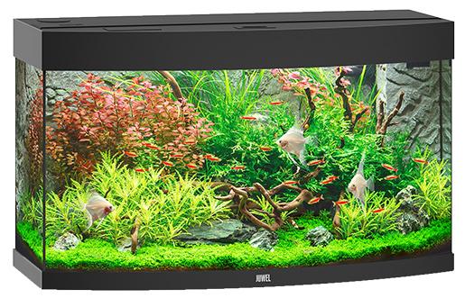 Juwel Akvárium set Vision 180 LED černé 92x55x41cm černé 180l Juwel