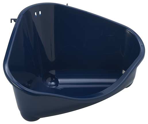 Toaleta Small Animal rohová 49,4x33,5x26,2cm