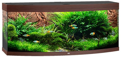 Juwel Akvárium set Vision LED 450 151x61x64cm tm.hnědé 450l