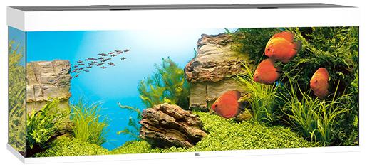 Juwel Akvárium set Rio LED 450 bílé 151*51*66cm,450l