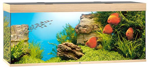 Juwel Akvárium set Rio LED 450 dub 151*51*66cm, 450l