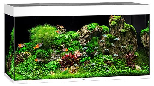 Juwel Akvárium set Rio LED 350 121x51x66cm bílé 350l Juwel