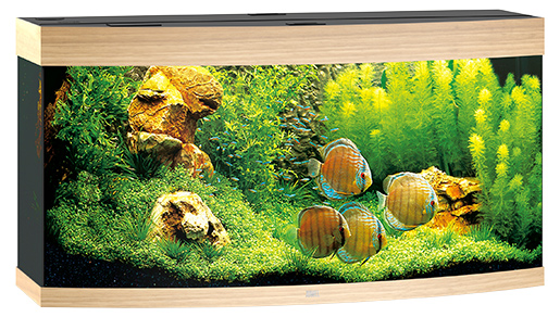 Juwel Akvárium set Vision LED 260 sv.hnědé 121*46*64cm,260l Juwel