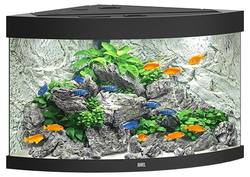 Juwel Akvárium set Trigon LED 190 černé 98,5x70x60cm 190l Juwel