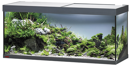 Akvárium set EHEIM Vivaline LED antracit 240l, 120*40*50