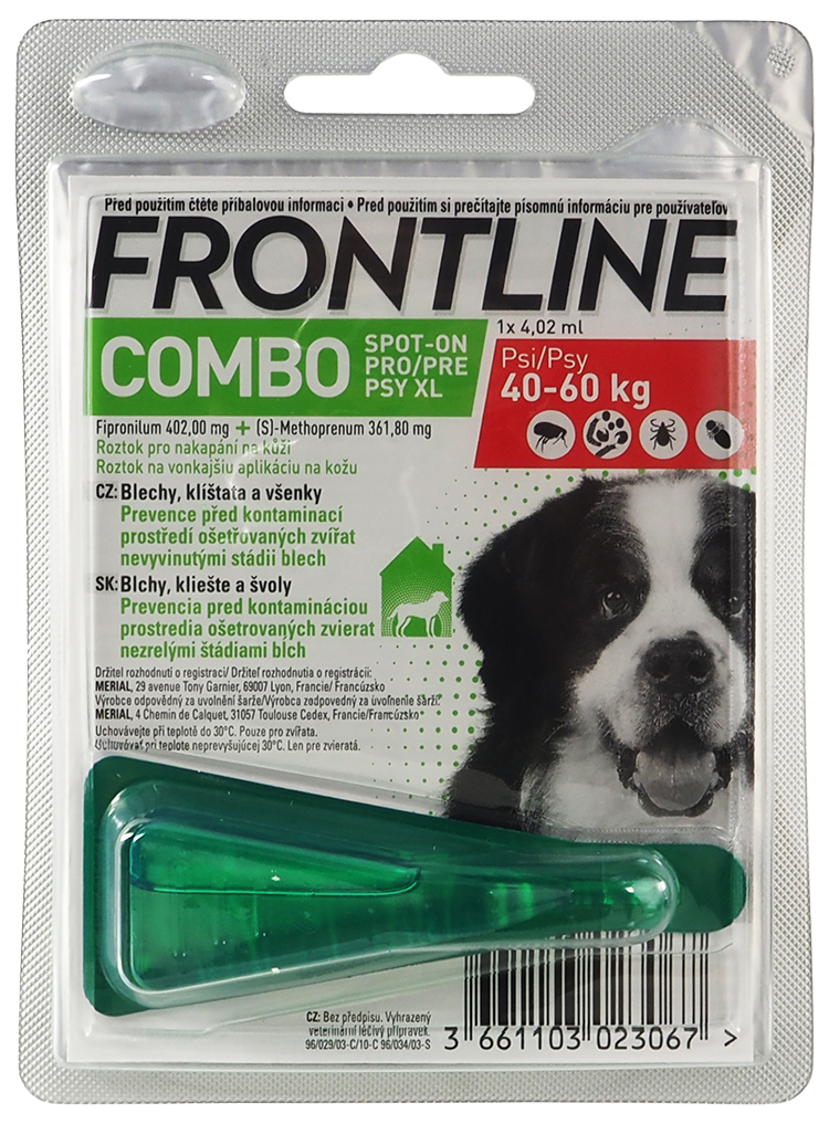 Frontline Combo Spot-on Dog XL
