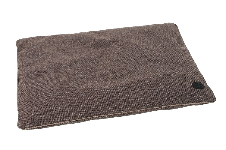 I love pets Ortopedický polštář Luxury 75x110cm tm. hnědá