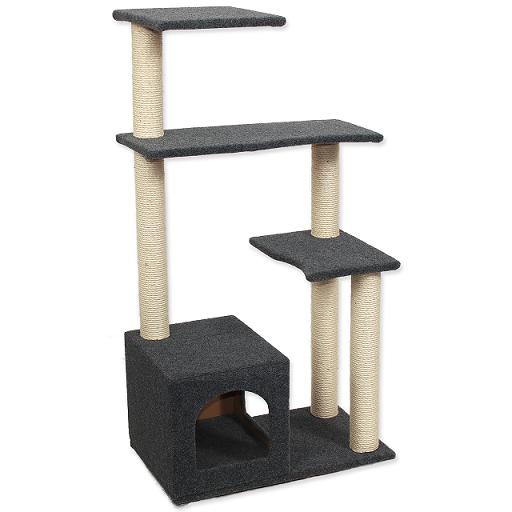 Odpočívadlo Magic Cat Leona 60x35x114cm šedé Magic Cat