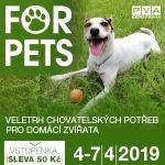 Sleva na FOR PETS 2019