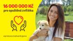 16 000 000 Kč pro opuštěná zvířátka title=