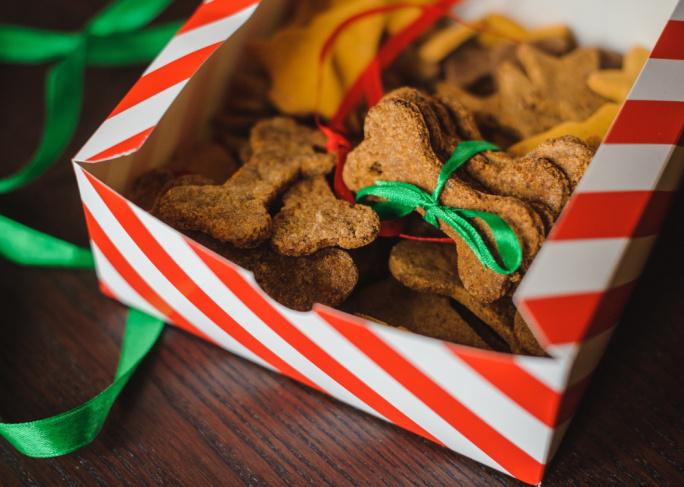 Vánoční cukroví pro psy