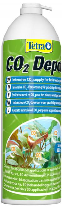CO2 do akvária - oxid uhličitý pro silné rostliny