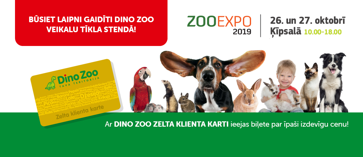 Aicinām uz ZOO EXPO 2019!
