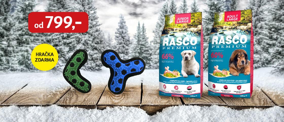 K Rasco Premium hračka zdarma