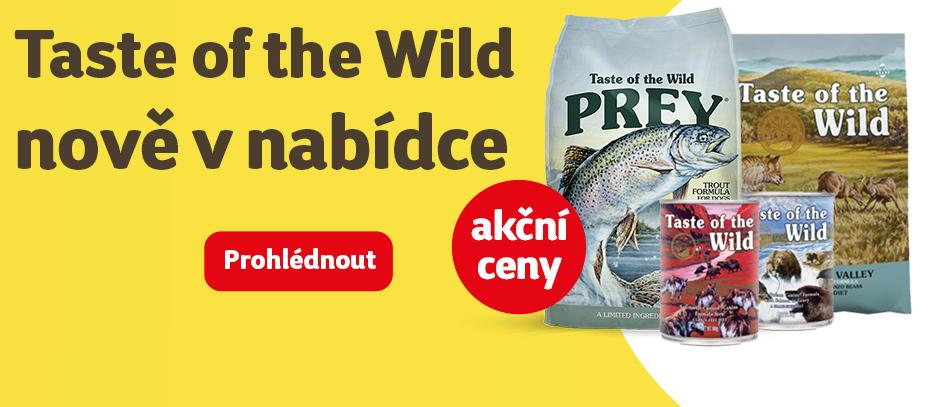 Taste of the wild nově v nabídce