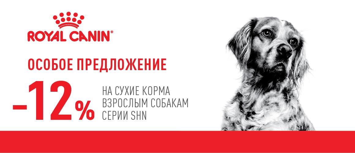 Акция Royal Canin