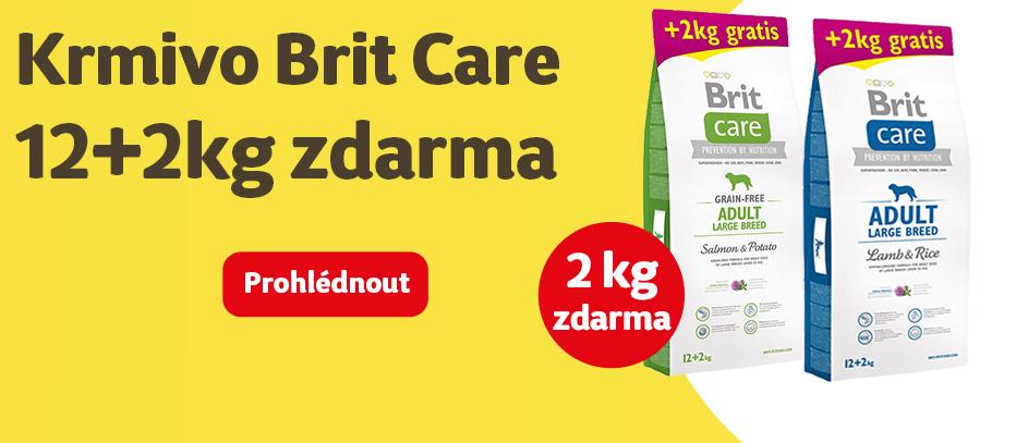 Brit care 12+2kg zdarma