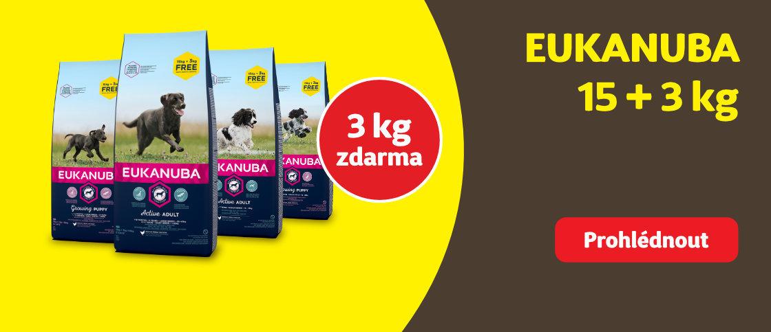 3 kg zdarma Eukanuba   class=