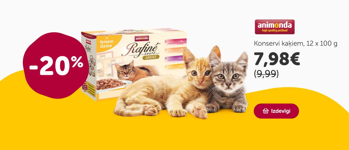 Konservi kaķiem - Rafine Multipack  class=