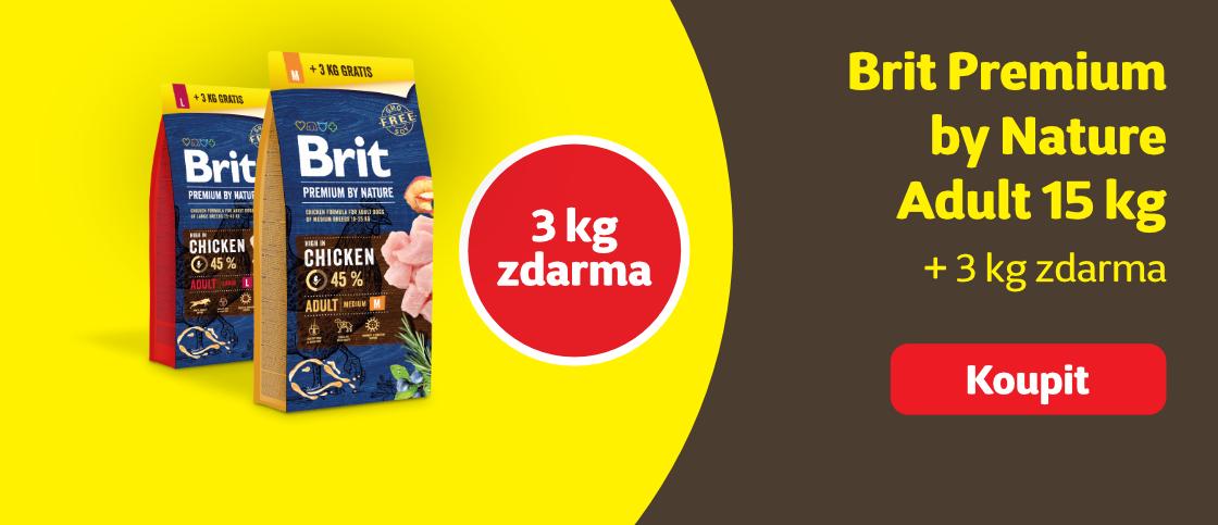 Brit Premium 3 kg zdarma   class=