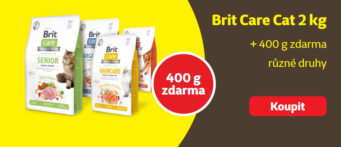 Brit care cat 400g zdarma   class=